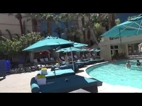MGM Grand Las Vegas  Pool Walkthrough 2015