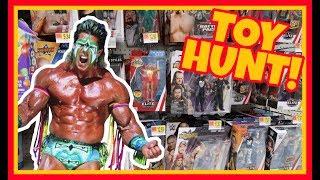 TOY HUNT!!! STEALING FROM WALMART!!! (3/3) WWE Wrestling Figure Fun #109