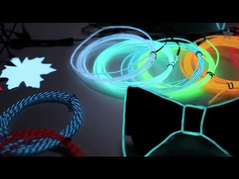 All About Electroluminescent Materials - EL Wire, EL Tape, EL Panel ...