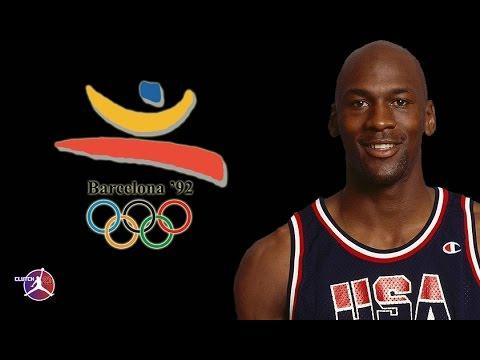 MICHAEL JORDAN OLYMPICS 1992