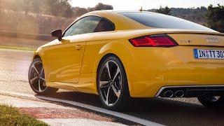 2015 Audi TTS — круг по автодрому Ascari Race Resort