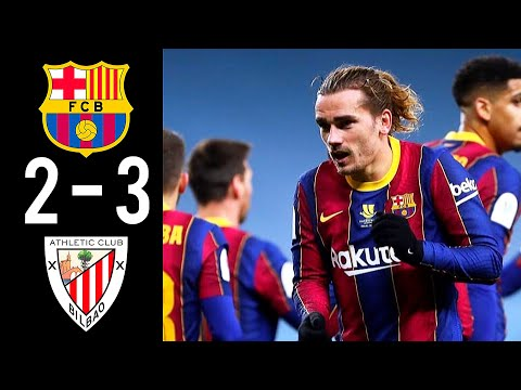 Barcelona vs Athletic Bilbao 2-3 Extended Highlights & All Goals 2021 HD