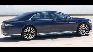 Lincoln Continental Concept 2015 Videos