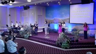Vào Cửa Ngài Với Lời Cảm Tạ - Living God Church Worship 04-24-2016