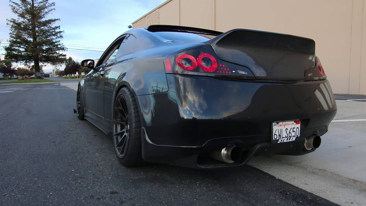 Infiniti G35 Megan Y Pipe Top Speed Exhaust Invida Cat HD Wallpapers Download free images and photos [musssic.tk]