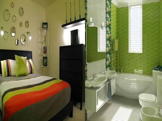 8 Desain Interior Nuansa Warna Hijau Rumah Minimalis. - YouTube
