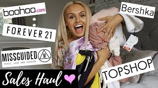 Sales Haul Summer Edition ☀️ Misguided- Topshop- Bershka & More