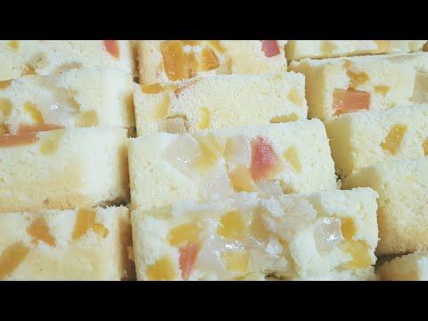 FRUIT COCKTAIL UPSIDE DOWN CAKE (recipe Sa Aking Bakery)