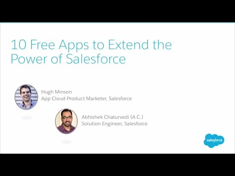 10 Free Apps to Extend the Power of Salesforce