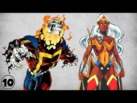 Top 10 Best Comic Book Amalgamations