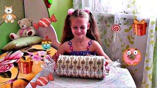 Огромная конфета Киндер сюрприз Видео про игрушки, приколы и сюрпризы