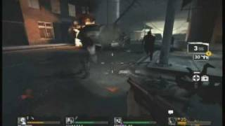 Left 4 Dead Demo - Gameplay - Part 1 -  (Xbox 360)