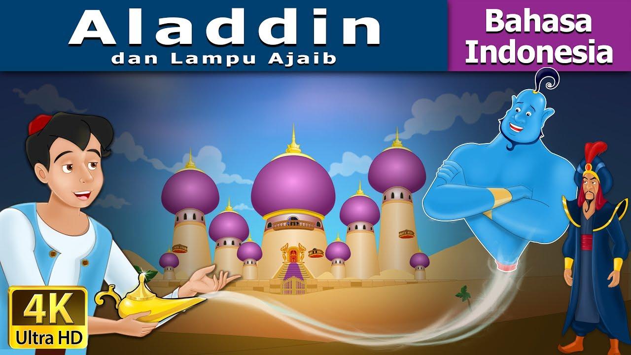 Aladdin Dan Lampu Ajaib Dongeng Anak Kartun Anak Dongeng