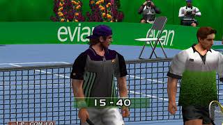 Virtua Tennis PC Gameplay Part 1