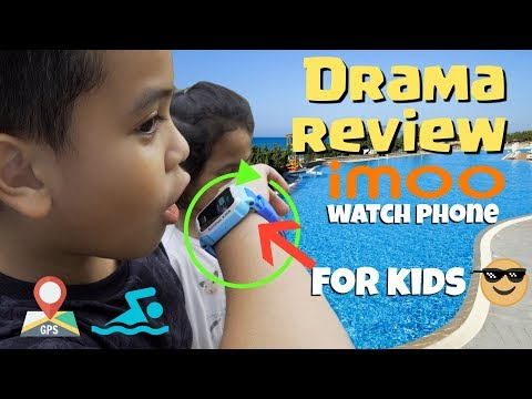 Drama anak Review imoo Y1 Watch Phone For Kids  TheRempongs