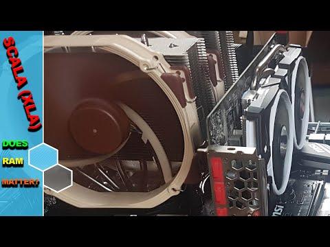 How Does RAM Affect CPU MINING ? XLA Test