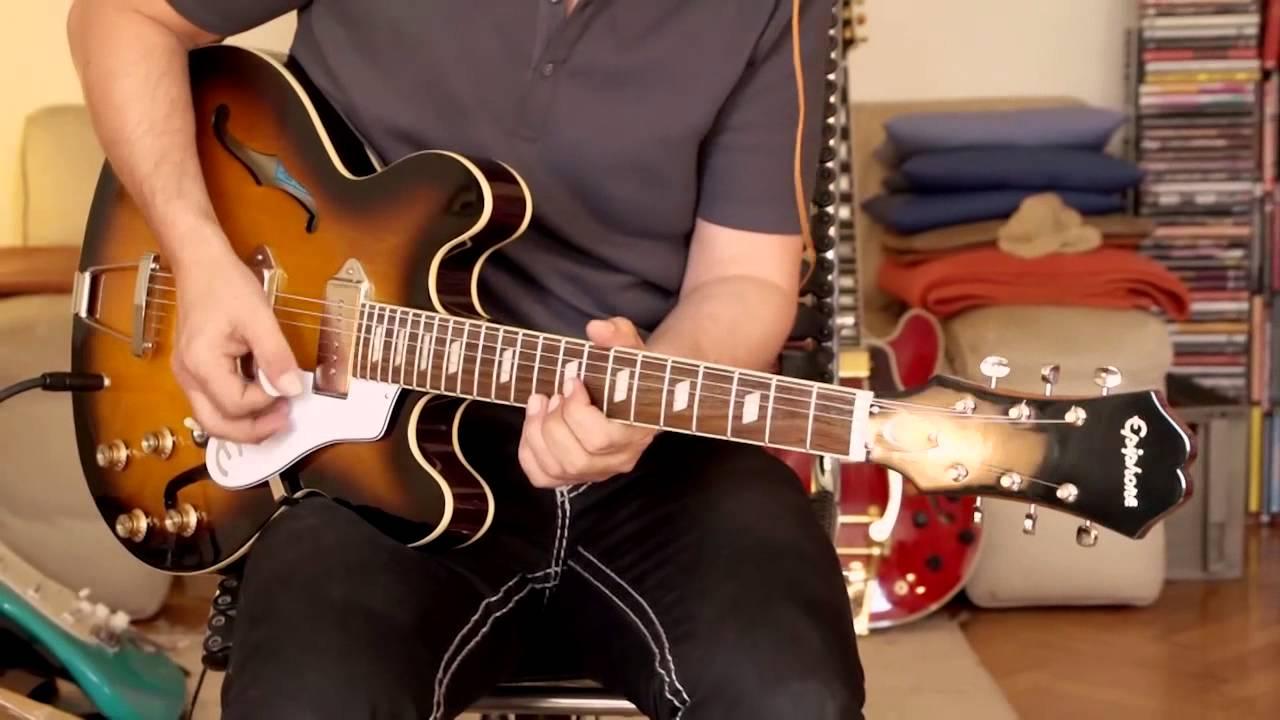 Epiphone 1965 Casino Inspired By John Lennon Part3 Youtube