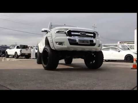 Ford Ranger fitted with 20x14 KMC BUCK l Styish Wheels