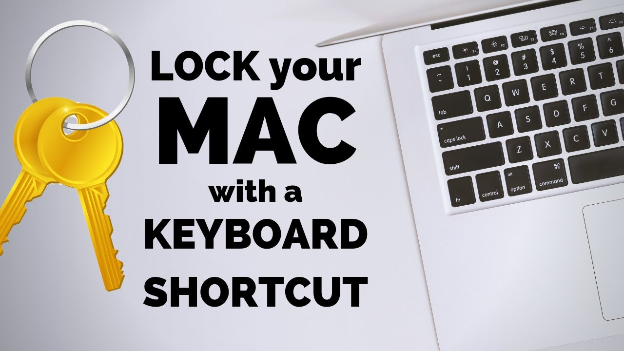 how to shortcut lock mac