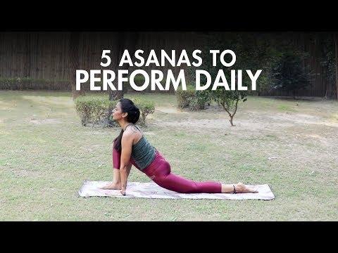 5 Yoga Asanas You Should Do Daily | Yoga | Fit Tak