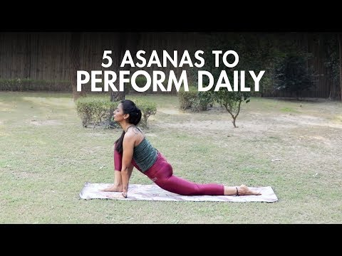 5 Yoga Asanas You Should Do Daily | Yoga | Fit Tak
