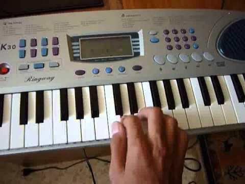 My nuevo mini-piano Ringway K-30 ( Análisis rápido )
