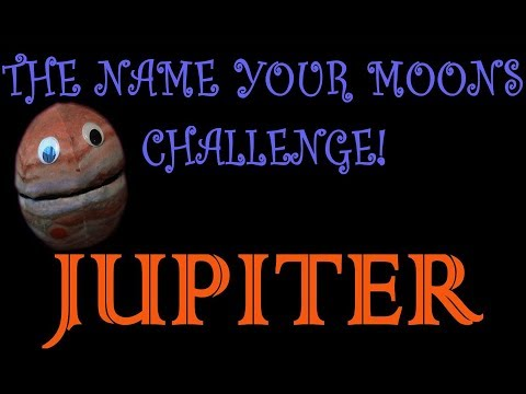 The Name Your Moons Challenge Ep.4/Planet JUPITER/For kids