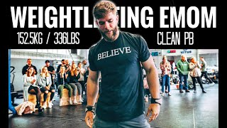 CrossFit Weightlifting EMOM - (DO THIS, it's epic)