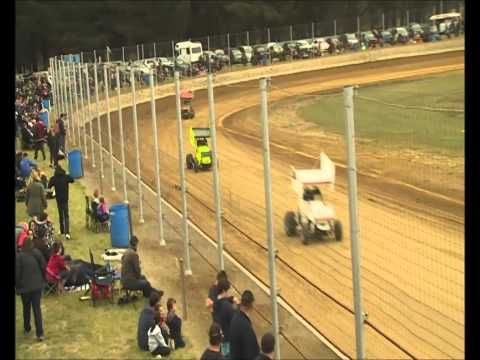 Modified Sprints Race 2 Riverside Speedway 8/11/14