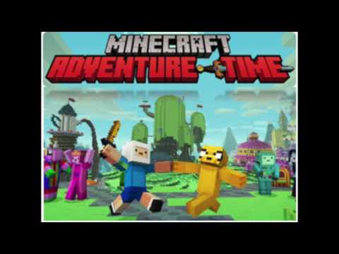 Minecraft Adventure Time mash up pack music!