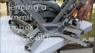 silencing a summit climber with stealth strips
