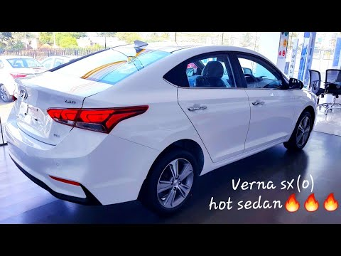 2019 Hyundai Verna Sx(o) Optional Top End Review With Sunroof | Features | Wireless Charging Pad