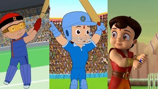 Superheroes Wins Cricket  Championship | Chhota Bheem | Mighty Raju | Super Bheem | Fun Kids Videos