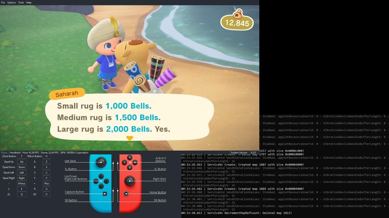 Animal Crossing New Horizons runs on PC - GAMEPLAY - YouTube