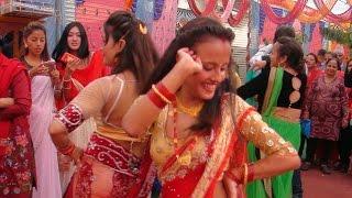 बबाल नाच पन्चे बाजा मा  Beautiful panche baja dance bardghat nawalparasi
