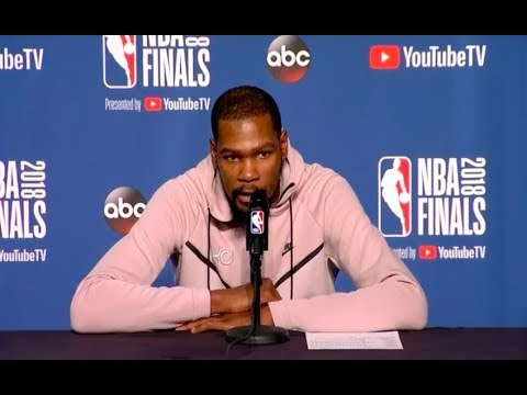 Kevin Durant   Game 3 NBA Finals Press Conference