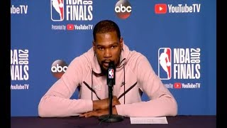 Kevin Durant | Game 3 NBA Finals Press Conference