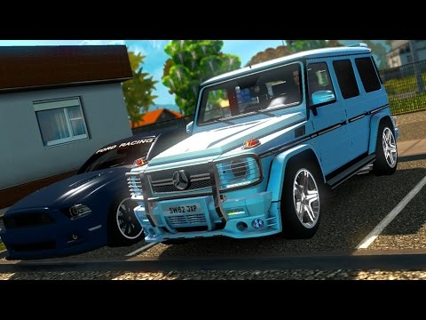 Euro Truck Simulator 2 (Mercedes G Class) ETS2 1 28x & 1 27 (+Download) by  ThomasTrucker