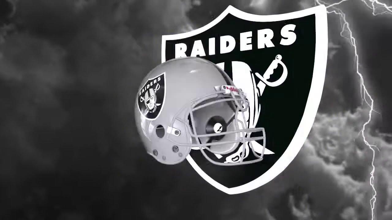 Free 3d Oakland Raiders Live Wallpaper Oakland Raiders Helmet And Logo Lightning Experience Youtube