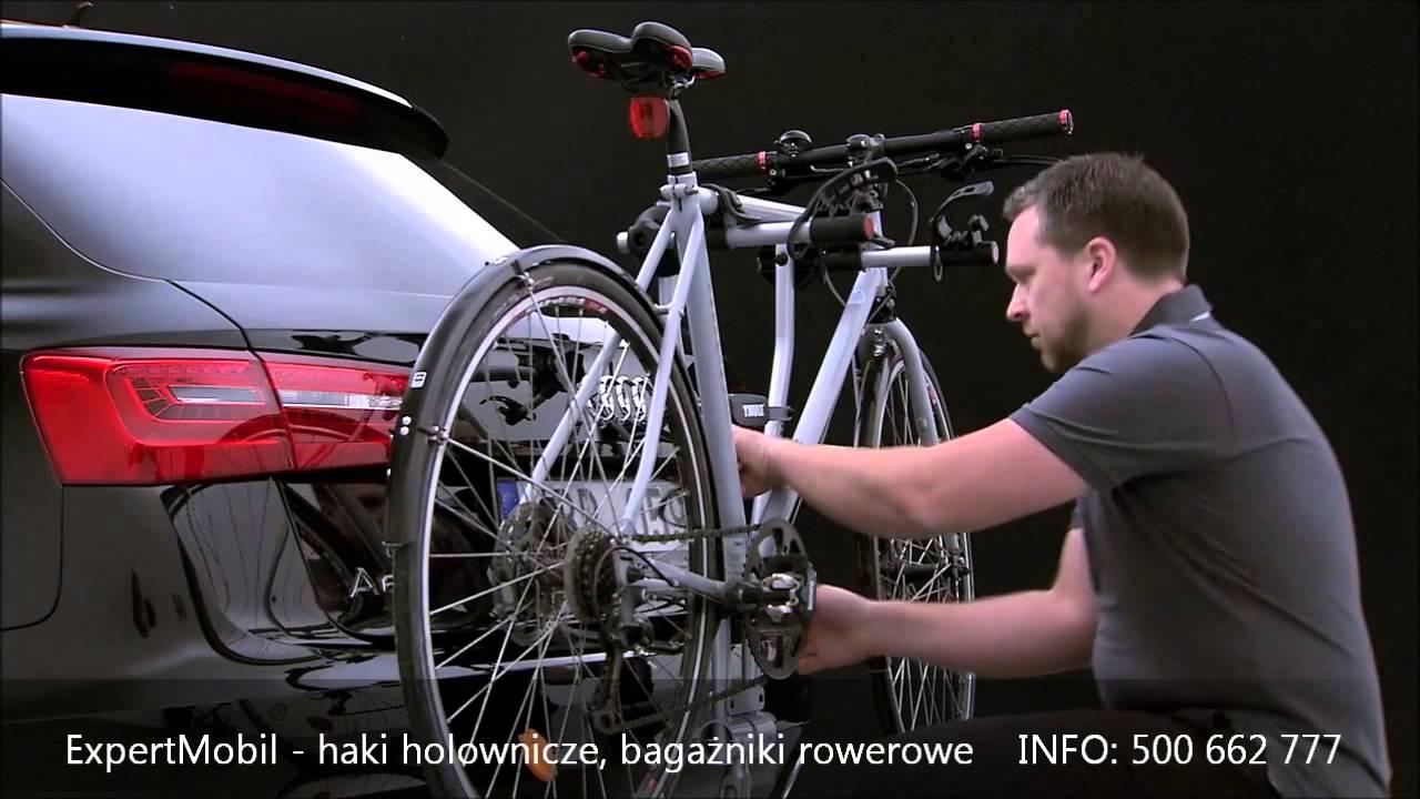 Bagażnik rowerowy THULE Xpress 970 - YouTube