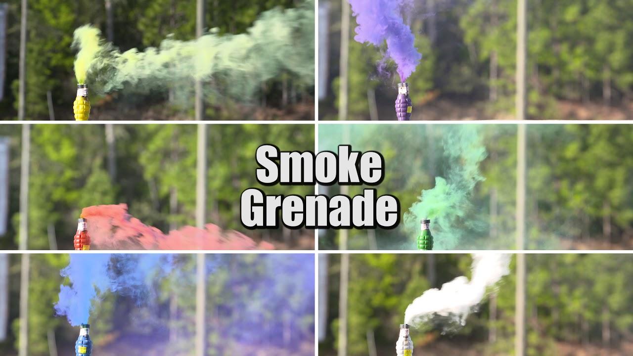 Smoke Grenade Pull String   Winco Fireworks
