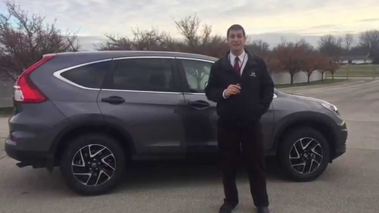 2016 honda cr v se awd presented by jeremy rees of victory honda in muncie indiana youtube. Black Bedroom Furniture Sets. Home Design Ideas