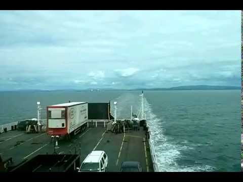 Isle of Man Ferry Time Lapse from Heysham