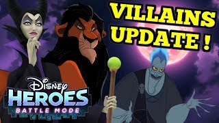 SCAR! HADES! MALEFICENT!!! - Disney Heroes: Battle Mode Video