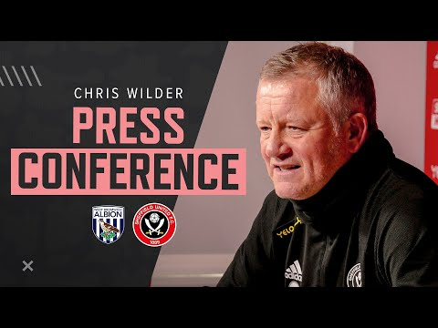 Chris Wilder | Press Conference Interview | Sheffield United v West From