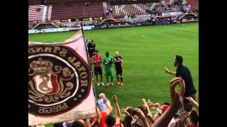 Courtrai vs Standard de liège ; Ultras & PHK 02-08-2014