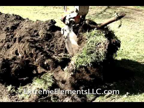 Excavation for Underground Utility Run - Extreme Elements, LLC