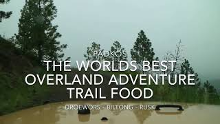 Droewors - Rusk - Biltong - Food for your next Overland Adventure
