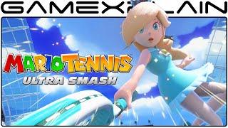 NEW Mario Tennis: Ultra Smash Characters - Rosalina, Daisy, Wario, DK, Waluigi, Yoshi (Gameplay)