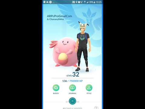Pokemon Go - Awards level 32